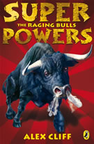 cover - Super Powers: The Raging Bull
