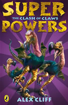 cover - Super Powers: The Clash of Claws